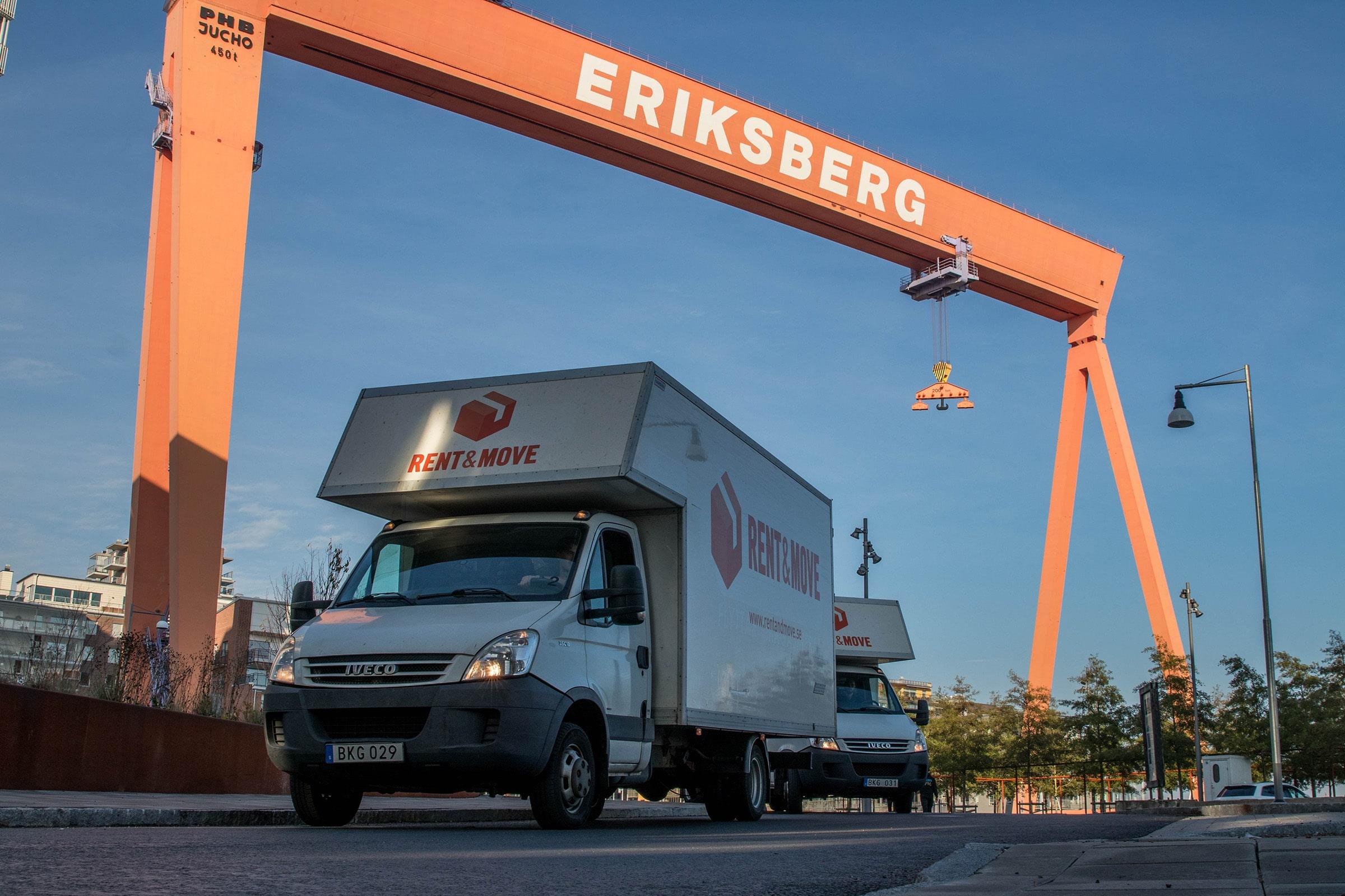 Flyttfirma i Göteborg - Rent & Move - Välkomstbild