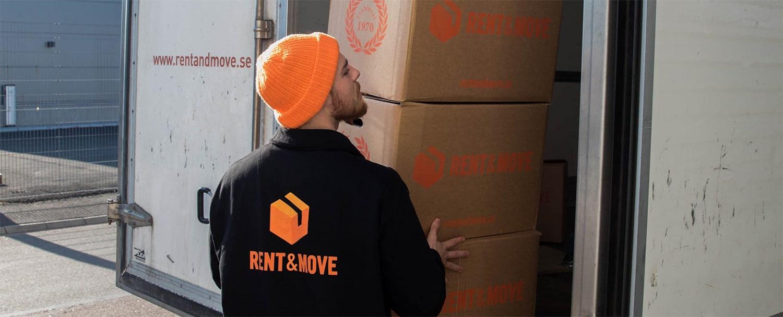 Flyttfirma i Borås | Rent & Move | Flyttlådor och flytbil